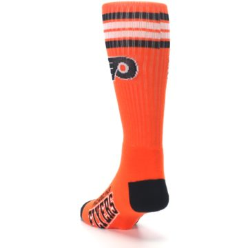Image of Philadelphia Flyers Men's Athletic Crew Socks (side-2-back-16)