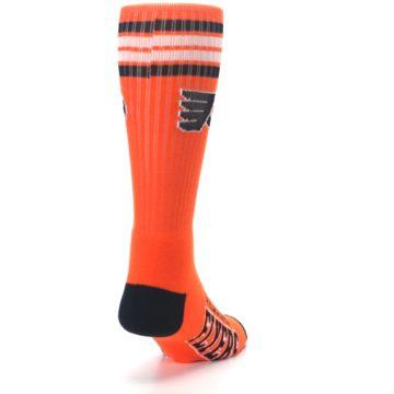 Image of Philadelphia Flyers Men's Athletic Crew Socks (side-1-back-20)