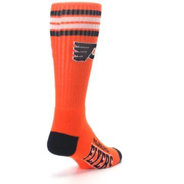 Image of Philadelphia Flyers Men's Athletic Crew Socks (side-1-back-21)