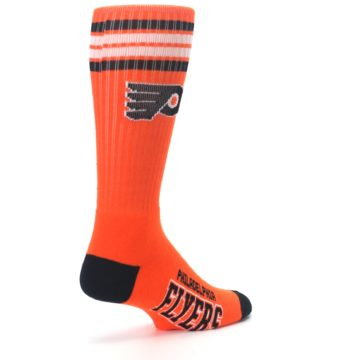 Image of Philadelphia Flyers Men's Athletic Crew Socks (side-1-back-22)