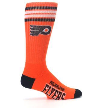 Image of Philadelphia Flyers Men's Athletic Crew Socks (side-1-24)