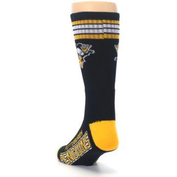 Image of Pittsburgh Penguins Men's Athletic Crew Socks (side-2-back-16)