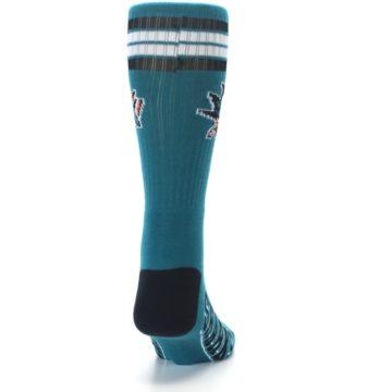 Image of San Jose Sharks Men's Athletic Crew Socks -1