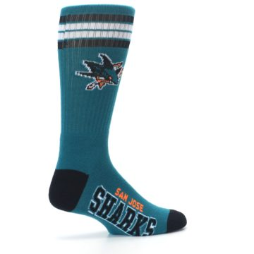 Image of San Jose Sharks Men's Athletic Crew Socks -2