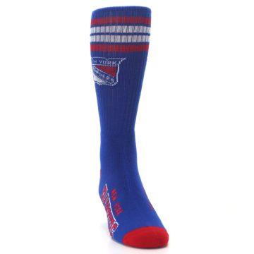 Image of New York Rangers Men's Athletic Crew Socks (side-1-front-03)
