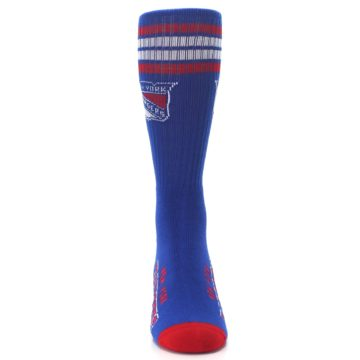 Image of New York Rangers Men's Athletic Crew Socks (front-04)