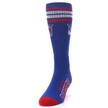 Image of New York Rangers Men's Athletic Crew Socks (side-2-front-06)