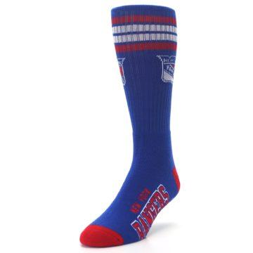 Image of New York Rangers Men's Athletic Crew Socks (side-2-front-07)