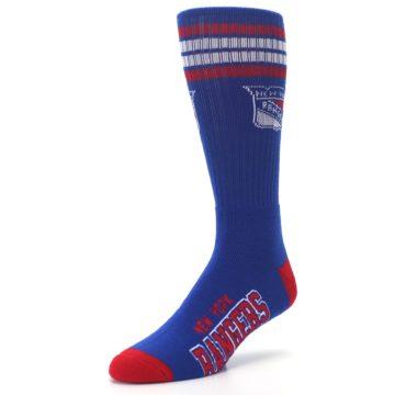 Image of New York Rangers Men's Athletic Crew Socks (side-2-front-08)