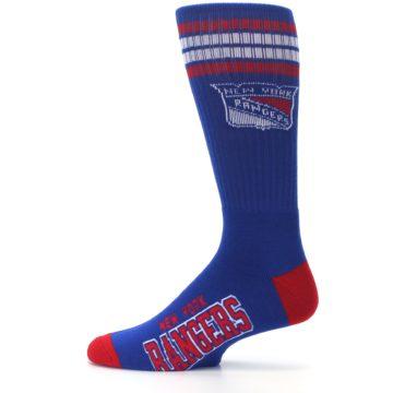 Image of New York Rangers Men's Athletic Crew Socks (side-2-12)