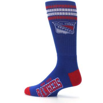 Image of New York Rangers Men's Athletic Crew Socks (side-2-13)