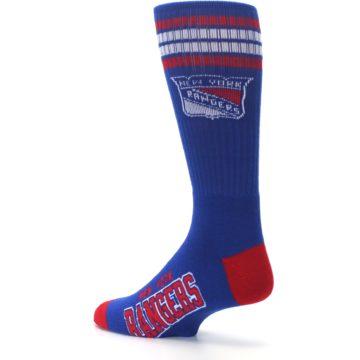Image of New York Rangers Men's Athletic Crew Socks (side-2-back-14)