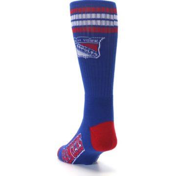 Image of New York Rangers Men's Athletic Crew Socks (side-2-back-16)