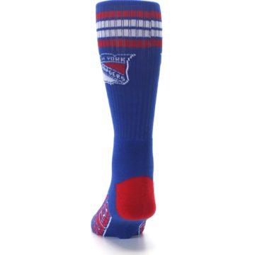 Image of New York Rangers Men's Athletic Crew Socks (back-17)