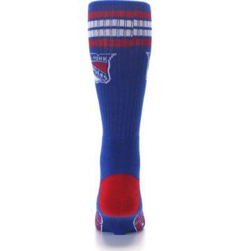 Image of New York Rangers Men's Athletic Crew Socks (back-18)