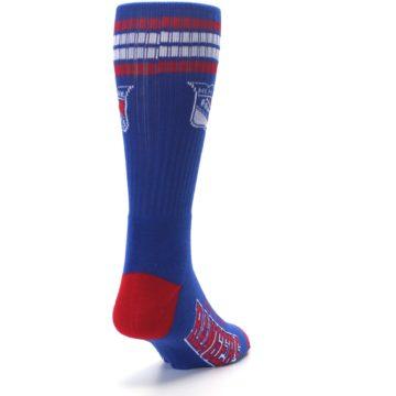 Image of New York Rangers Men's Athletic Crew Socks (side-1-back-20)