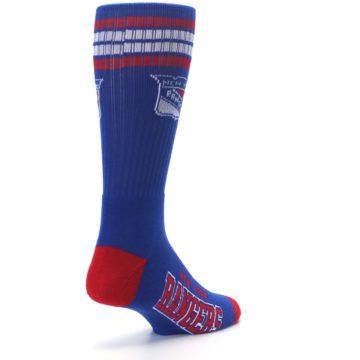 Image of New York Rangers Men's Athletic Crew Socks (side-1-back-21)