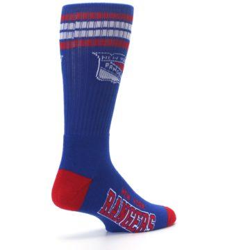 Image of New York Rangers Men's Athletic Crew Socks (side-1-back-22)