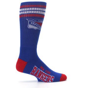 Image of New York Rangers Men's Athletic Crew Socks (side-1-24)