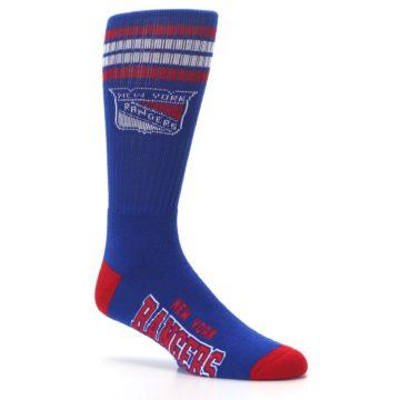 Image of New York Rangers Men's Athletic Crew Socks (side-1-26)