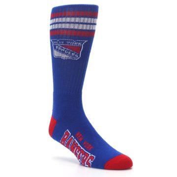 Image of New York Rangers Men's Athletic Crew Socks (side-1-27)