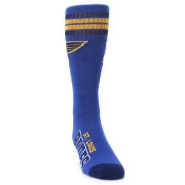 Image of St Louis Blues Men's Athletic Crew Socks (side-1-front-03)