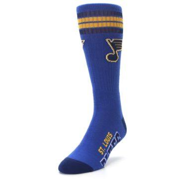 Image of St Louis Blues Men's Athletic Crew Socks (side-2-front-07)