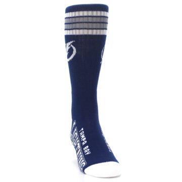 Image of Tampa Bay Lightning Men's Athletic Crew Socks (side-1-front-03)