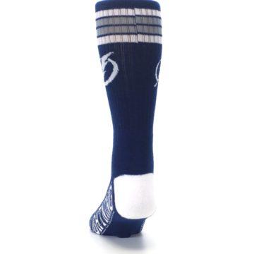 Image of Tampa Bay Lightning Men's Athletic Crew Socks (back-17)