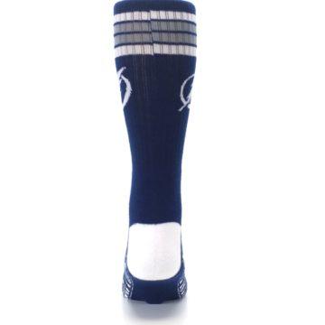 Image of Tampa Bay Lightning Men's Athletic Crew Socks (back-18)