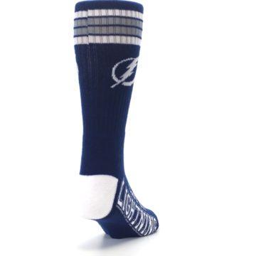 Image of Tampa Bay Lightning Men's Athletic Crew Socks (side-1-back-20)