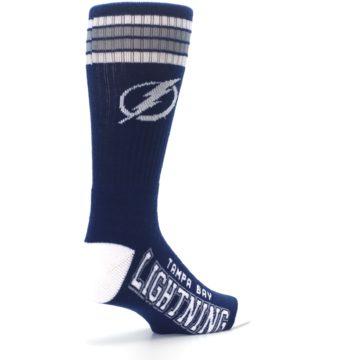 Image of Tampa Bay Lightning Men's Athletic Crew Socks (side-1-back-22)