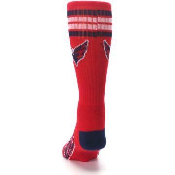 Image of Washington Capitals Men's Athletic Crew Socks (back-17)