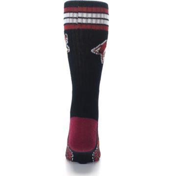 Image of Arizona Coyotes Men's Athletic Crew Socks (back-18)