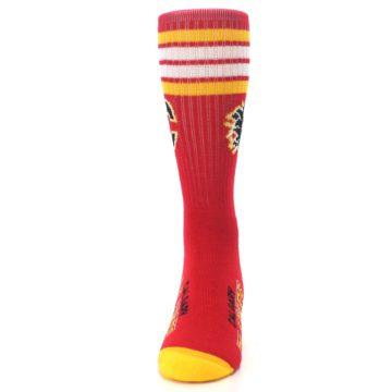 Image of Calgary Flames Men's Athletic Crew Socks (front-05)