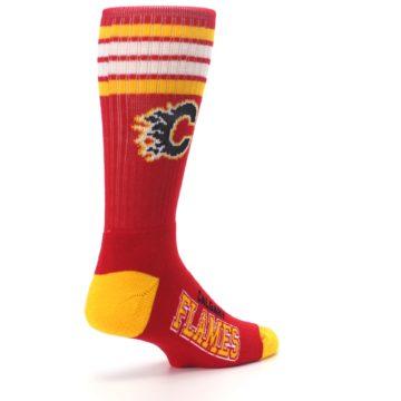 Image of Calgary Flames Men's Athletic Crew Socks (side-1-back-22)