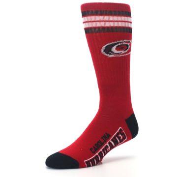 Image of Carolina Hurricanes Men's Athletic Crew Socks (side-2-09)