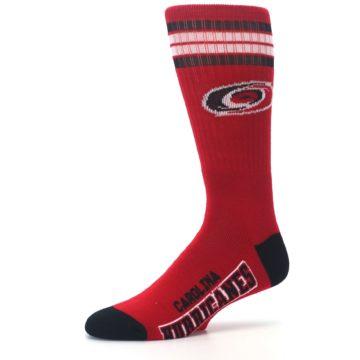 Image of Carolina Hurricanes Men's Athletic Crew Socks (side-2-10)