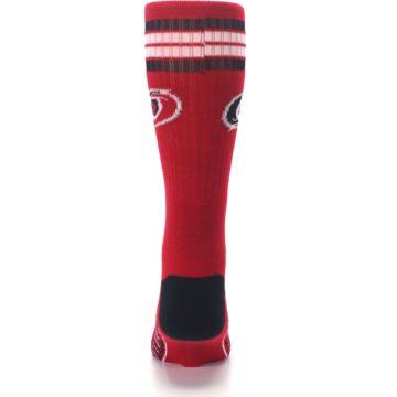 Image of Carolina Hurricanes Men's Athletic Crew Socks (back-18)