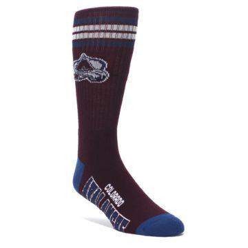 Colorado-Avalanche-Mens-Athletic-Crew-Socks-FBF