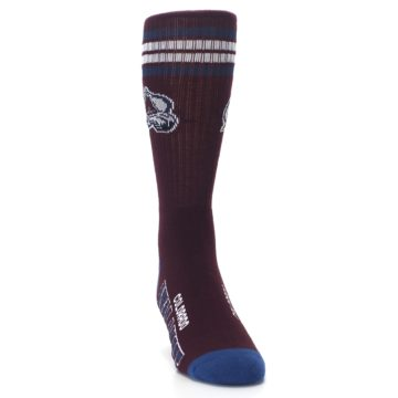 Image of Colorado Avalanche Men's Athletic Crew Socks (side-1-front-03)