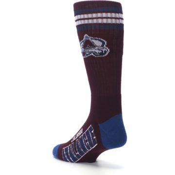 Image of Colorado Avalanche Men's Athletic Crew Socks (side-2-back-15)