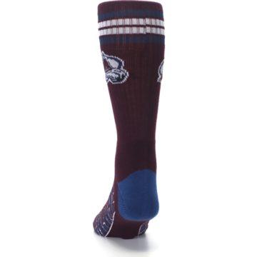 Image of Colorado Avalanche Men's Athletic Crew Socks (back-17)