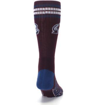 Image of Colorado Avalanche Men's Athletic Crew Socks (back-19)