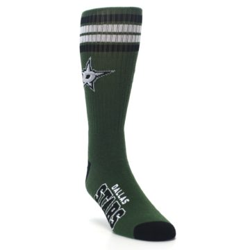 Image of Dallas Stars Men's Athletic Crew Socks (side-1-front-02)