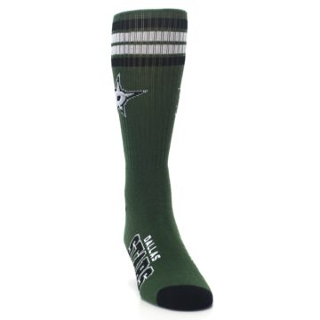 Image of Dallas Stars Men's Athletic Crew Socks (side-1-front-03)