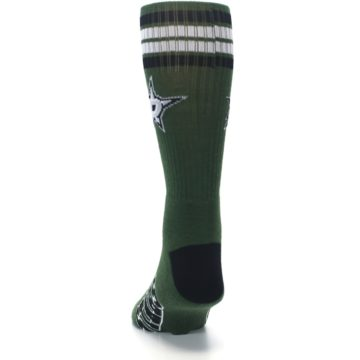 Image of Dallas Stars Men's Athletic Crew Socks (back-17)