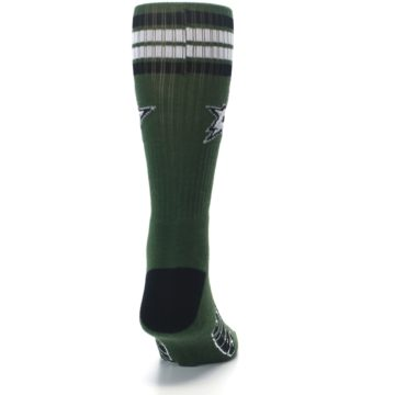 Image of Dallas Stars Men's Athletic Crew Socks (back-19)