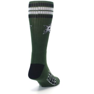 Image of Dallas Stars Men's Athletic Crew Socks (side-1-back-20)