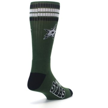 Image of Dallas Stars Men's Athletic Crew Socks (side-1-back-21)